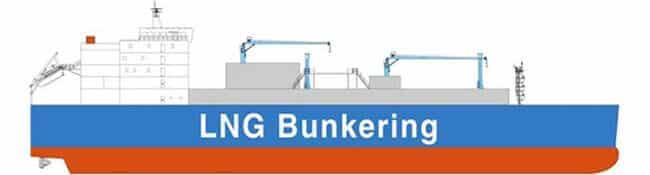 Image of LNG bunkering vessel