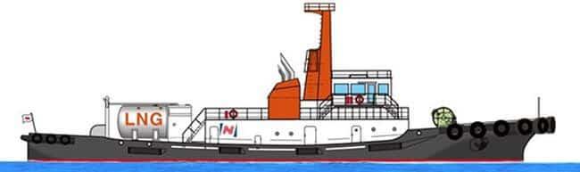 Image of LNG-fueled vessel