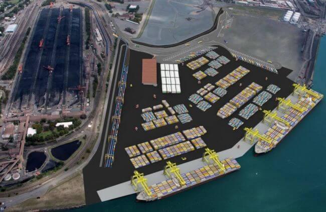 Newcastle-Container-Terminal-Concept-Design