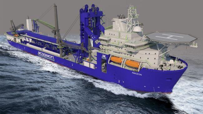 Royal IHC to perform major modification on McDermott pipelay vessel_header