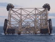 Statoil mariner jacket installation