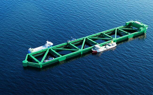live fish farm carrier