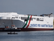 Watch: Launch Of RoRo Ship 'Maria Gracia Onorato' – Largest In The Mediterranean