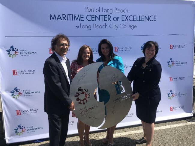 port of long beach center of maritime excellence