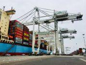 port of oakland _ cranes
