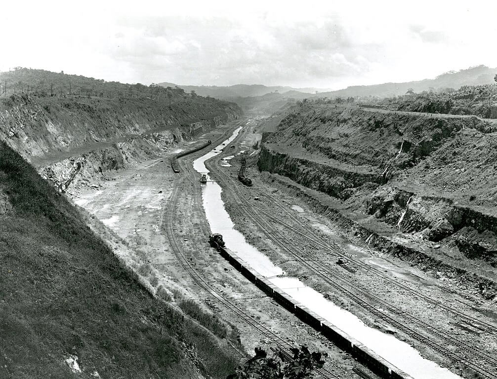 Under Construction Panama Canal