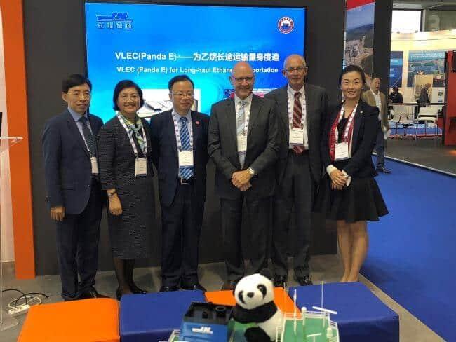 Gastech 93K cbm VLEC Panda