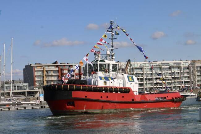 Kotug Smit Towage performs naming ceremony for tug Southampton_lowres