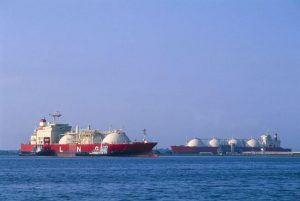 LNG mooring analysis image