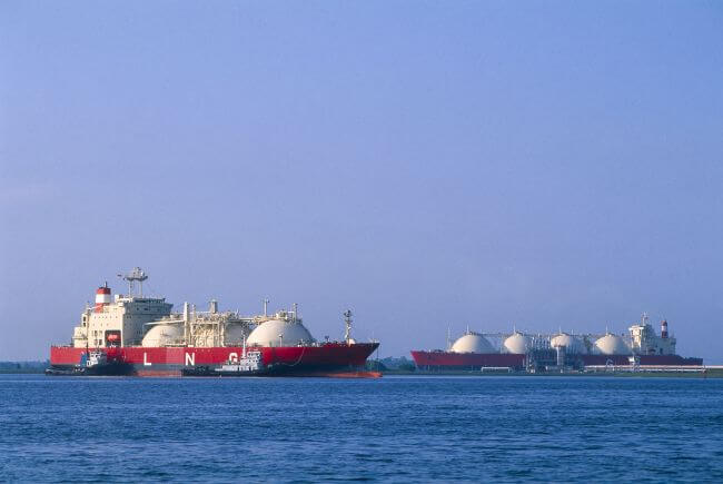 LNG mooring analysis image