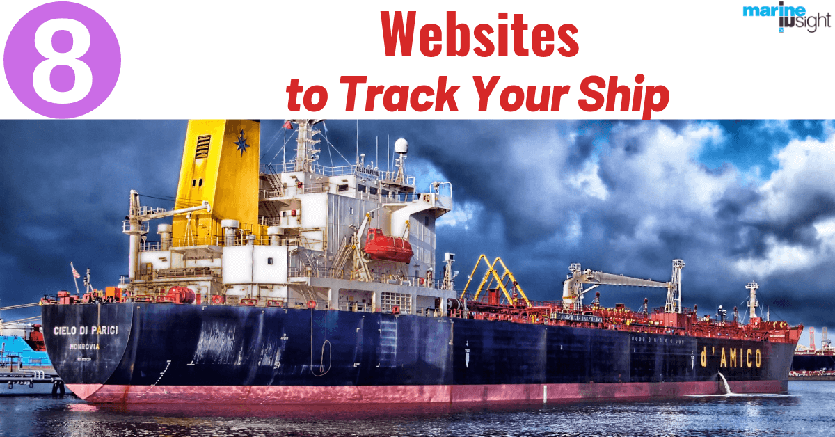 Top 8 Ship Tracking Websites To Track Your Ship Accurately