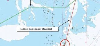 Real Life Incident: Ship Touches Seabed, Hull Breached At Several Places