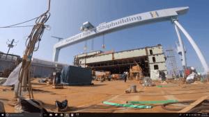 newport shipbuilding_aircraft carrier US Navy_John F. Kennedy