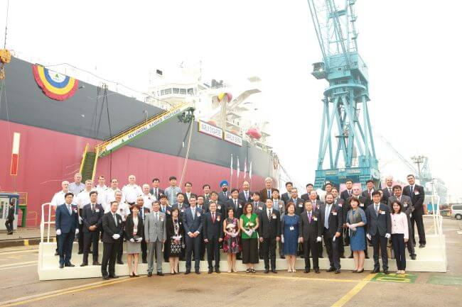 trifigura oil tanker naming ceremony (1)