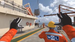 MOL VR training 360 degree video