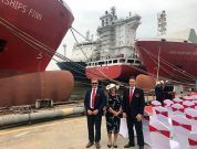 Christening of 2 Containerships Group Vessels