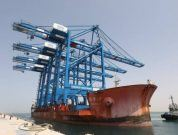 cosco shipping STS Cranes At Abu Dhabi Port_1