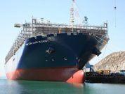 Hanjin Shipyard Delivers 3rd Subic-Made 20,600 TEU Container Ship 'CMA CGM Louis Bleriot'