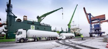"""World's Largest LNG Bunker Supply Vessel """"Kairos"""" Starts Its Voyage To Europe"""