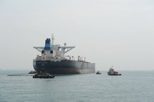 oil spill exercise_MPA Singapore