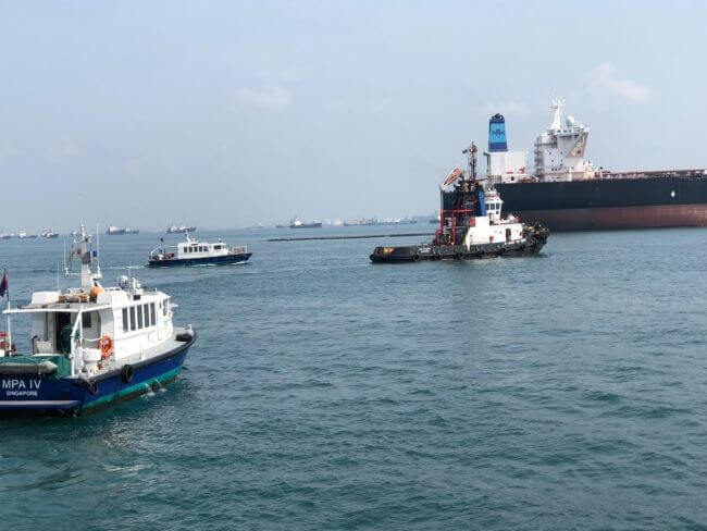 oil spill exercise_MPA Singapore_!