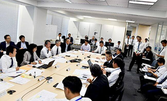 MOL Tabletop Drill Focuses on LNG Carrier Safety
