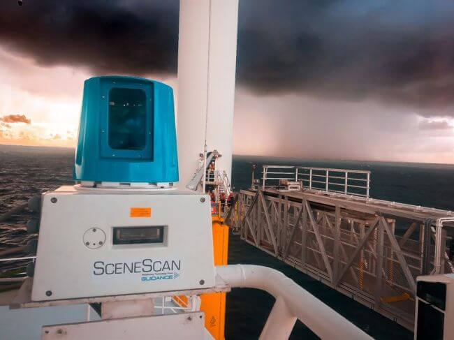 Wärtsilä launches SceneScan, the first targetless laser sensor for offshore wind farms