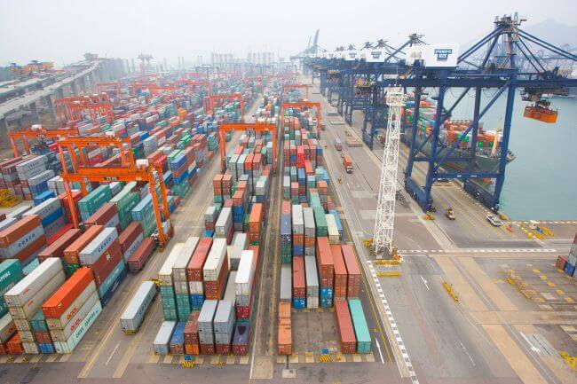 COSCO HIT shipping port
