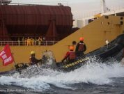 Six Greenpeace Activists Arrested on Board
