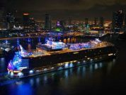 Photos: Miami Welcomes World's Largest Cruise Ship For The First Time