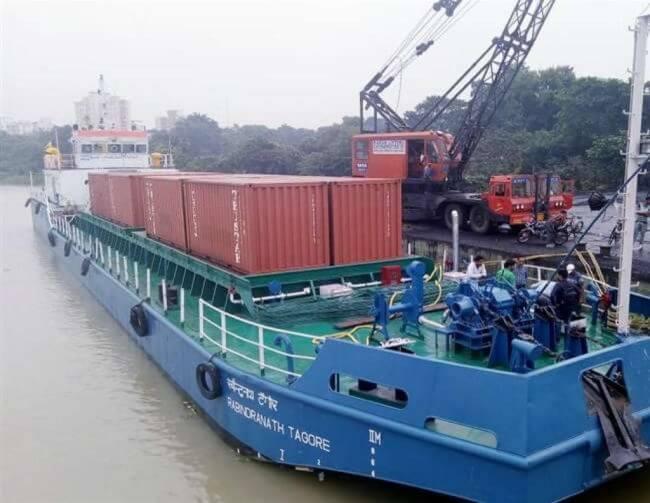Multi modal terminal ganga river