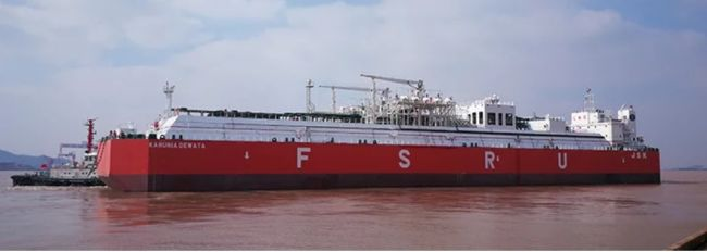 PaxOcean delivers largest FSRU to be built in China.