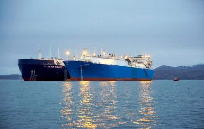 Yamal LNG STS Transhipment_