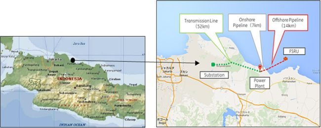 MOL to Participate in Construction, Ownership, Operation of FSRU for Jawa 1 Gas-Fired IPP Project in Indonesia