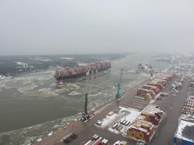 Klaipeda Seaport has opened the gates