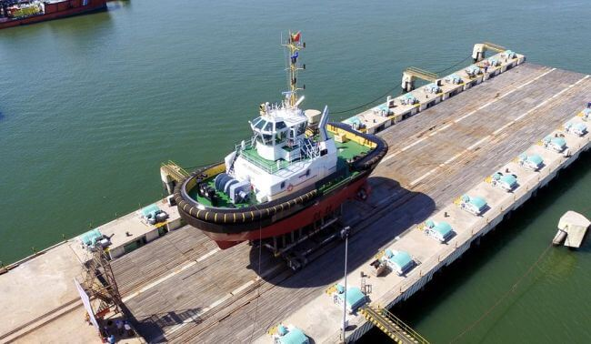 Damen New Tug Port Support