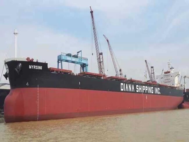 Diana Shipping Announces Sale Of Two Panamax Dry Bulk Vessels