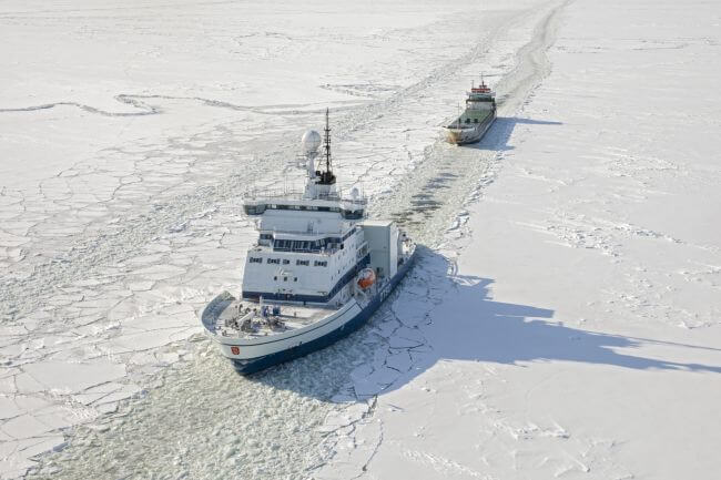 Arctia's icebreaker Otso to the Bothnian Bay