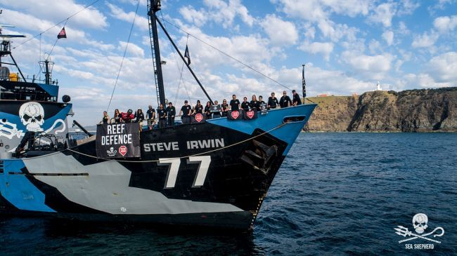 Sea Shepherd's flagship the M/Y Steve Irwin retires after a life defending the oceans