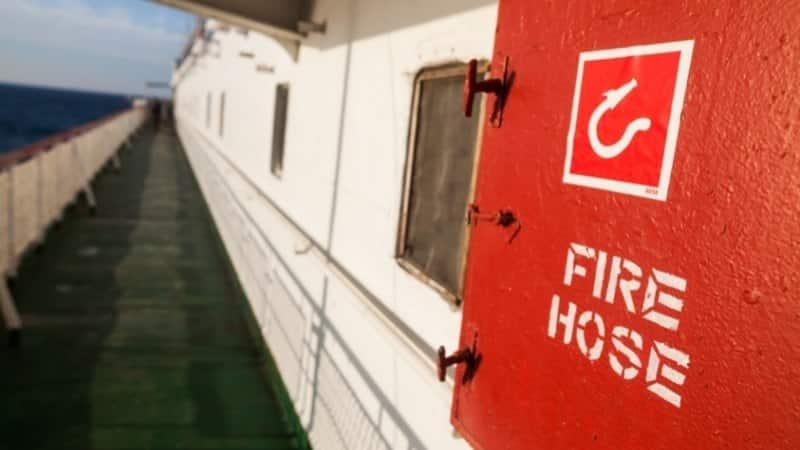 Anti-Piracy Fire Hoses