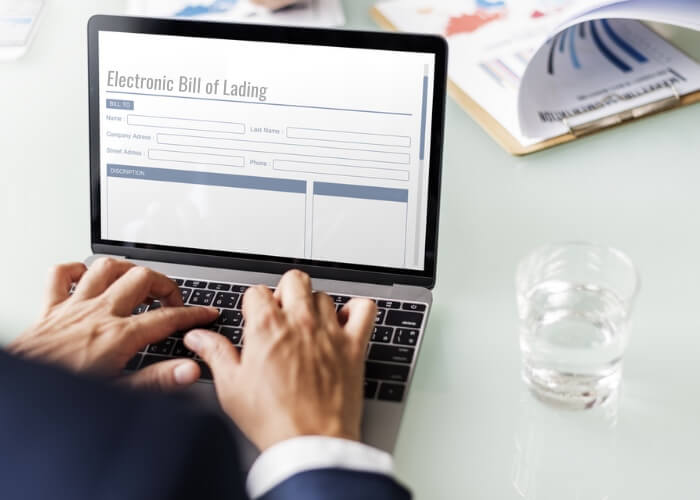 Electronic bill of lading
