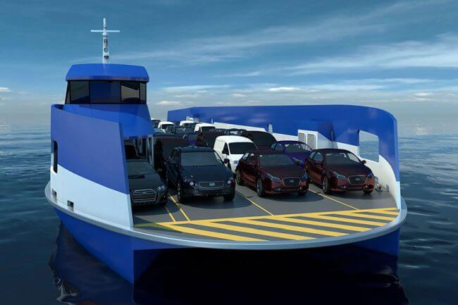 Incat Crowther to Design Double-Ended Ro-Pax Ferry