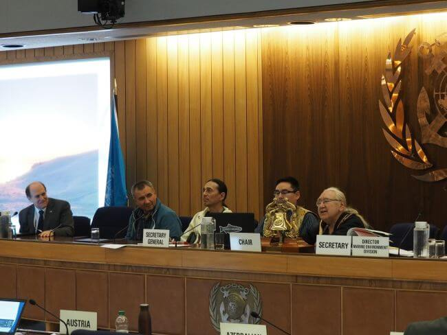 Impacts and Benefits of a Heavy Fuel Oil Ban in the Arctic event at MEPC73
