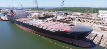 Crowley Carries Out Sea Trial of Second ConRo Ship Taino