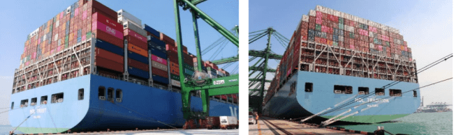 "ONE Achieved Container Loading Records in two Consecutive Weeks by ""MOL TRUST"" and ""MOL TRADITION"""