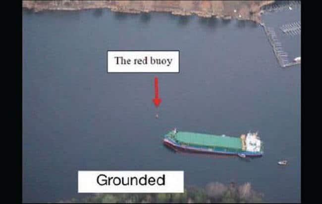 grounding incident