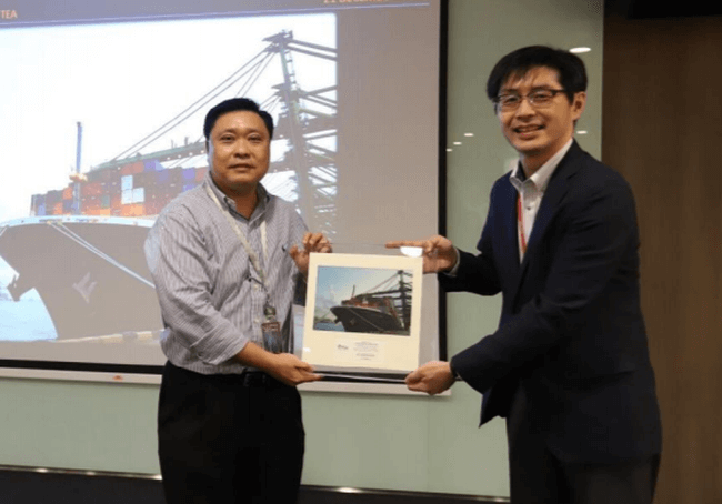 ONE Achieved Record in Productivity at PSA Singapore's Pasir Panjang Terminal
