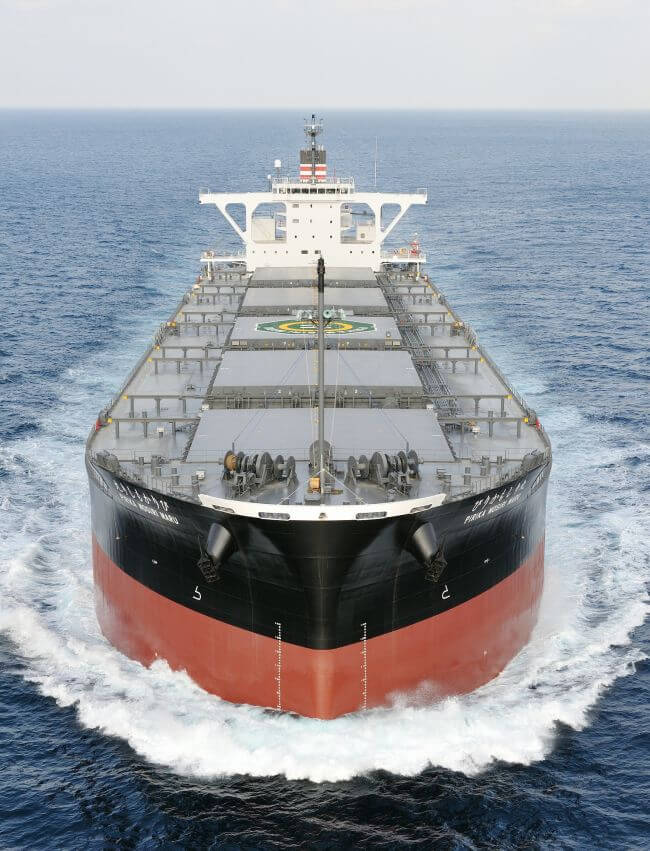 New Coal Carrier for Hokkaido Electric Power Delivered with an Innovative Binary Cycle Power Generation System for ship