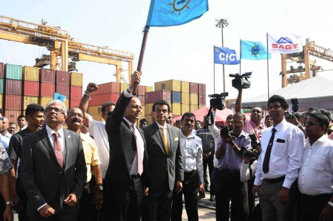 port of colombo record
