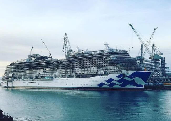 Fincantieri princess cruises